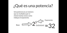 PRIMARIA - 6º - POTENCIAS DE BASE DIEZ - MATEMÁTICAS