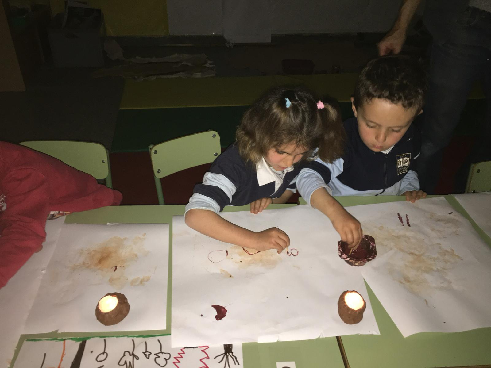 2019_03_15_Infantil 4B descubre la pintura rupestre_CEIP FDLR_Las Rozas 2