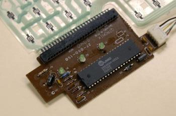 Detalle de controlador teclado