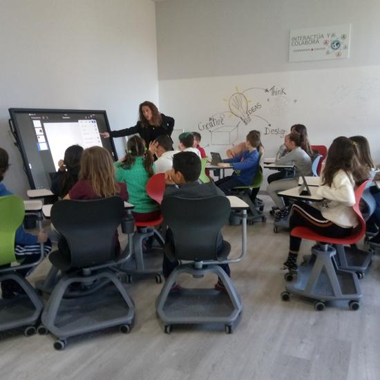 Estreno del aula XXI 10