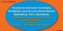 Moodle: Competencia digital en Bachillerato