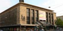 Edificio principal en zona comercial de Dusselforf, Alemania