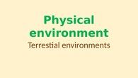 5B Physical environment