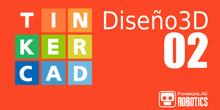 TinkerCAD Uso Básico 02 Crear Diseño