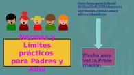 Normas y Límites para Padres y Educadores