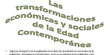 Tema 11 Transformaciones económicas y sociales de la Edad Contemporánea