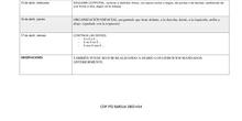 Plan de trabajo de Audición y Lenguaje (AZUL)