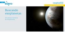 Buscando exoplanetas. ESERO