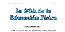 La OCA de la Educación Física - 2do ciclo