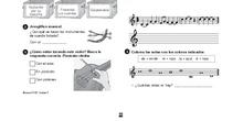 Deberes música 3º primaria