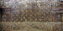 Detalle de la pintura del transepto de San Julián de los Prados,