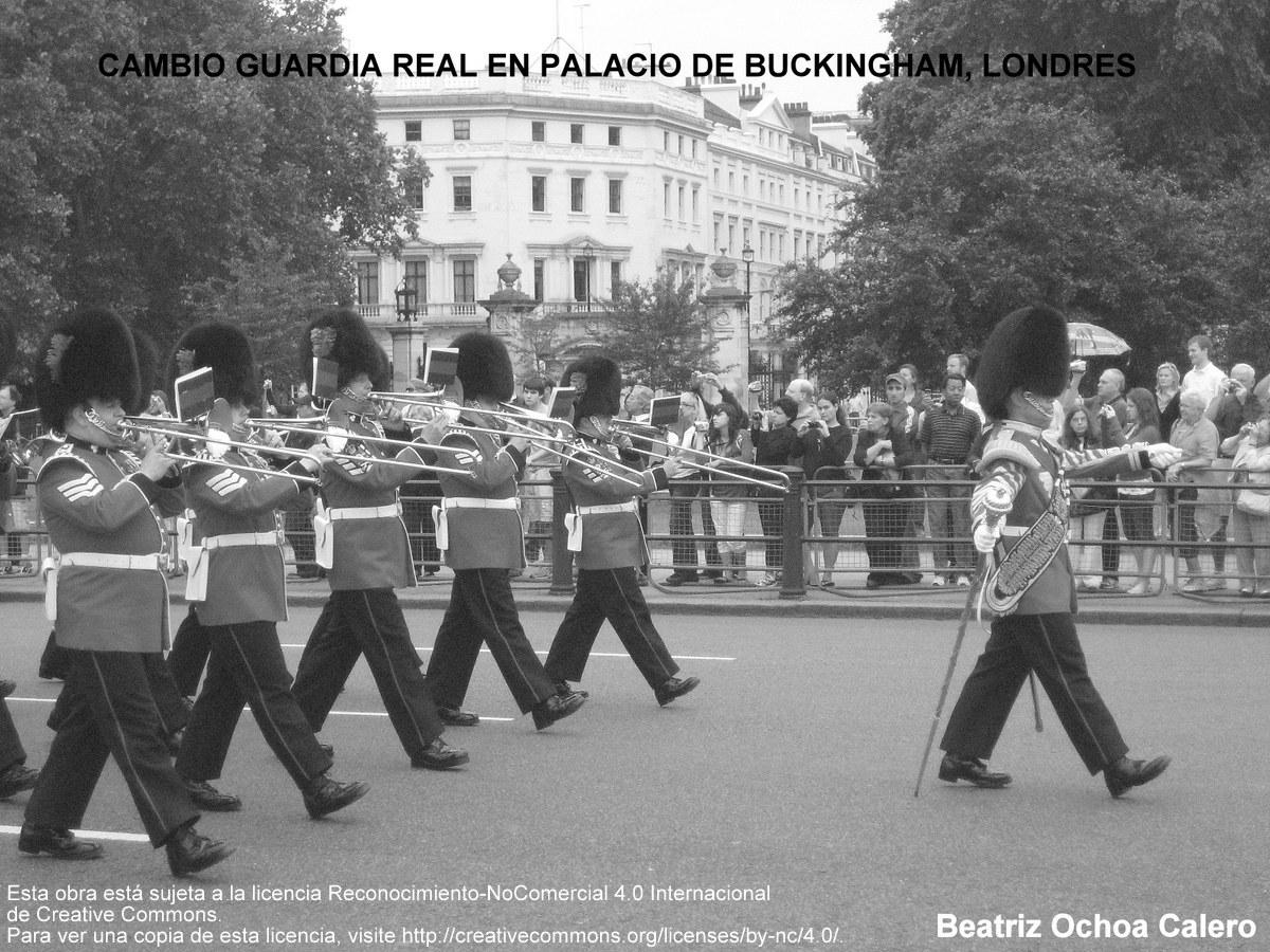 Cambio de Guardia Palacio de Buckingham