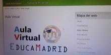 Acceso al aula virtual (Clase de Español para extranjeros, CEPA Canillejas)