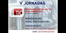 """Ponencia de D. Juan Alvarado Quintana: """"Propuesta de aula virtual sobre Moodle para Ciencias Sociales"""""""
