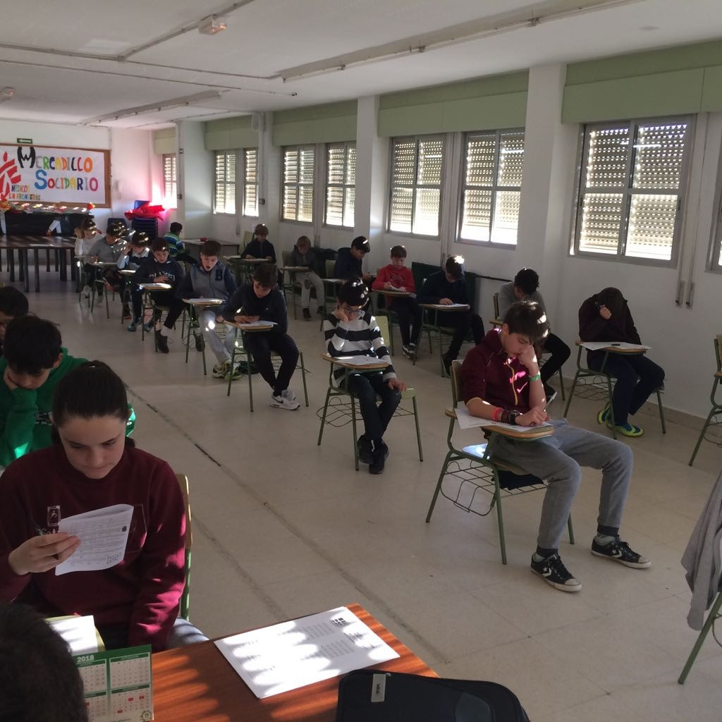I Fase Concurso Primavera Matemáticas 2018_CEIP FDLR_Las Rozas