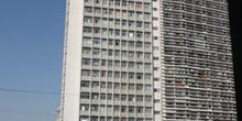 Edificio desalojado en Sao Paulo, Brasil