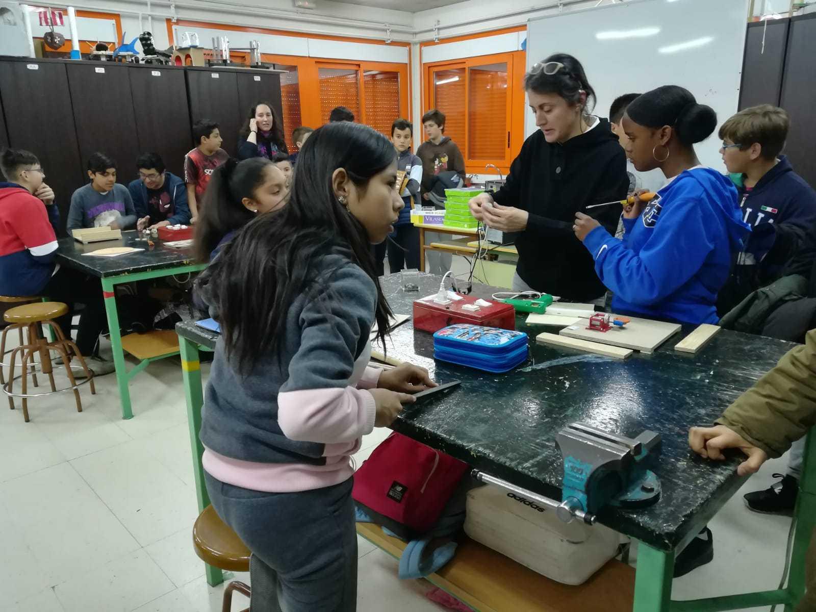 2019_03_06_Sexto visita el IES I_CEIP FDLR_Las Rozas 5