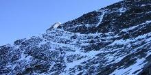 Espolón de Ginebra: Corredor de nieve