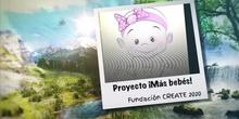 MÁS BEBÉS PROYECTO CREATE 2020
