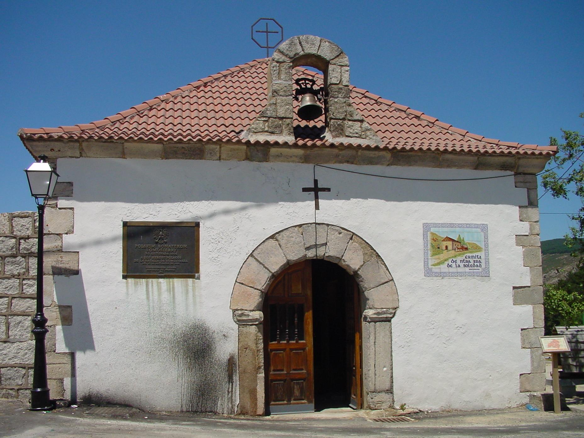 Ermita de Nuestra Señora de la Soledad en Somosierra