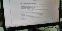 2019_01_25_Sexto A disfruta con el Proyecto Leemos de Lectura Online