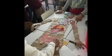 PRIMARIA - 6º B - HUMAN BODY - ARTS AND CRAFTS - LUCÍA