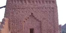 Torre de adobe, Ait Benhaddou, Marruecos