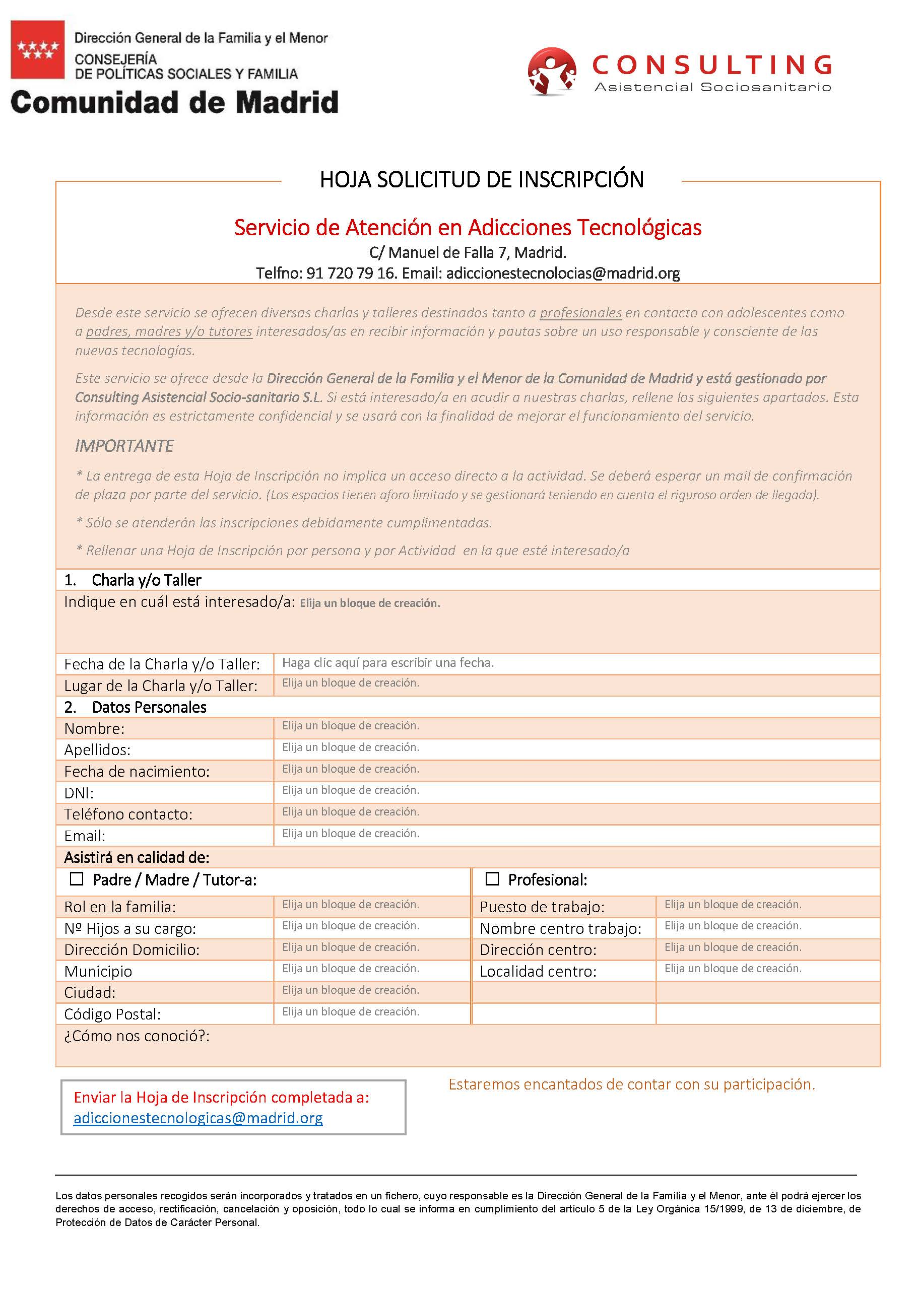 Atención en Adicciones Tecnológicas