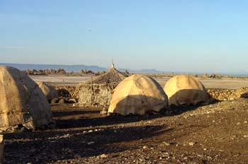 Cabañas, Rep. de Djibouti, áfrica