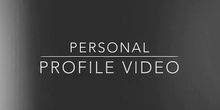 Personal Profile Video