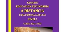 Guía ESPA Distancia El Pontón Nivel I 2021-2022
