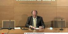EducaMadrid para TIC y directores: Clausura a cargo del Director General de Infraestructuras