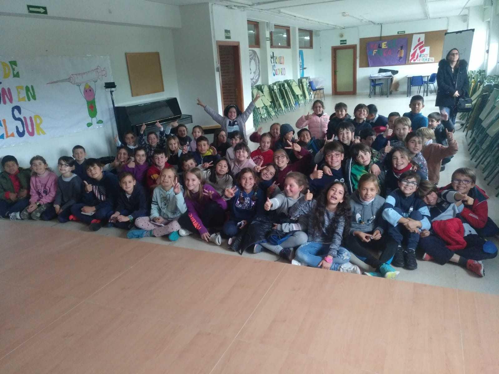 2019_04_24_Día del Libro 4º_Encuentro con Autor_CEIP FDLR_Las Rozas  5
