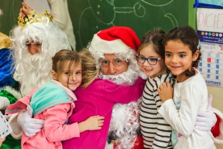 Los RRMM y Papá Noel en INF 5C 19