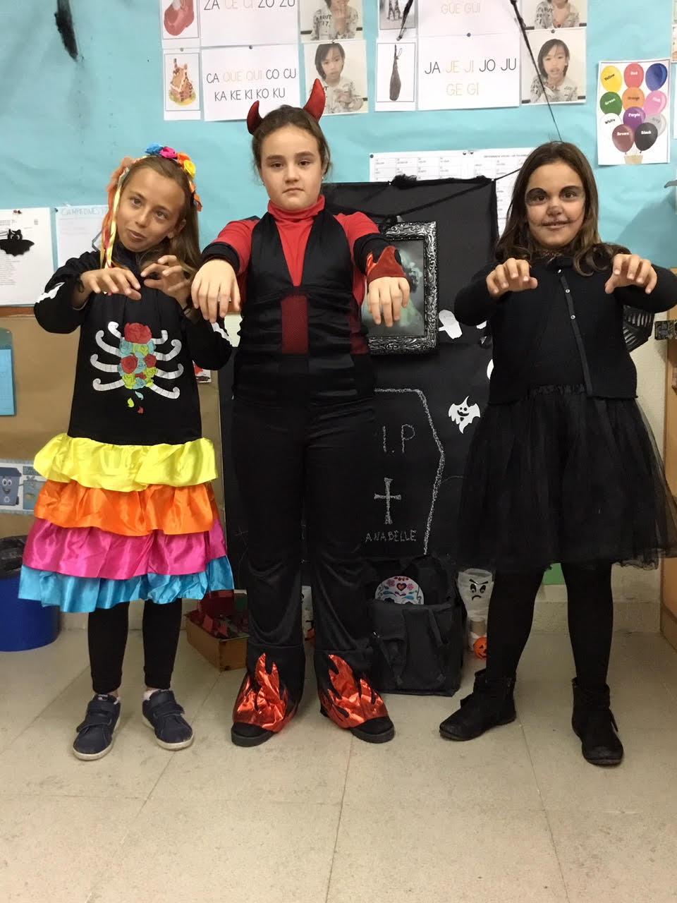 2018_10_31_Cuarto B disfruta en Halloween_CEIP FDLR_Las Rozas 16