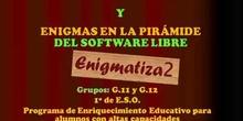 Resumen PEAC Sur 2013-2014 Enigmas de la piramide