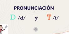 Pronunciación fonemas D y T