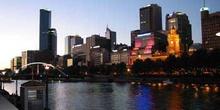 Melbourne al atardecer, Australia