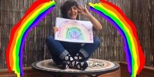 """Viajando en cuarentena: sueños al pie de un arcoíris. """"HACE FALTA UNA FLOR"""""""