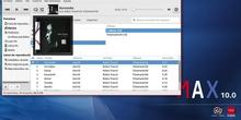 MAX 10.0 - Modificar propiedades de audio en Rhytmbox