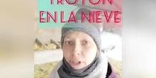PICHIRILO Y TROTÓN EN LA NIEVE