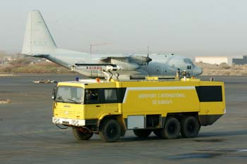 Bomberos, Rep. de Djibouti, áfrica