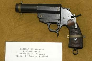 Pistola de señales Walther LP 35, Museo del Aire de Madrid