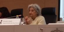 La superviviente del Holocausto Dña. Annette Cabelli