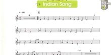Partitura Indian Song