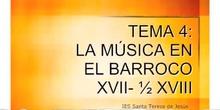Historia de la Música. Tema 4- La música en el Barroco (Traducción al Chino)