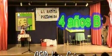LA RATITA PRESUMIDA 4 años B CEIP Juan Gris de Madrid