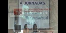 """Ponencia de Dª Ana Municio y Dª Mercedes Ruiz: """"Plan audiovisual Tribu 2.0"""""""