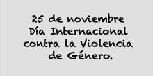 VIDEO CONTRA LA VIOLENCIA DE GENERO REALIZADO POR ALUMNOS DE 1º DE PRIMARIA