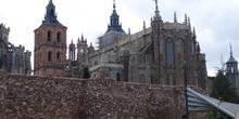 Catedral y murallas de Astorga, León, Castilla y León